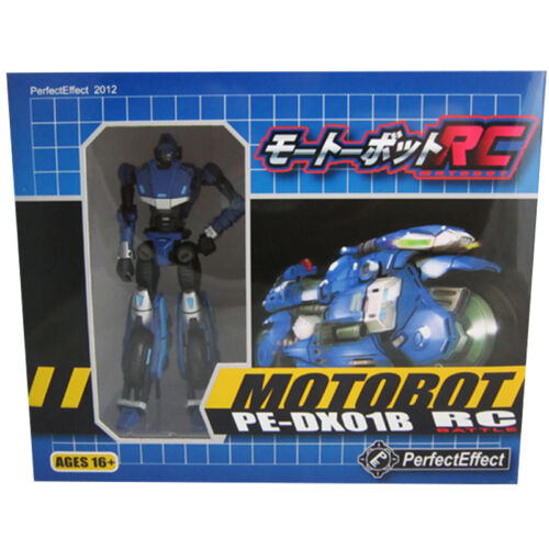 TRANSFORMERS G1 PERFECT EFFECT PE-DX-01B RC Motorcycle Blue Version