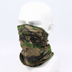 Outdoor Cycling Anti UV Neck Scarf Full Face Cover Breathable Headwear Utility