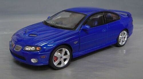 GMP ACME 1 18 2006 PONTIAC GTO IMPULSE Blau IBM NEW