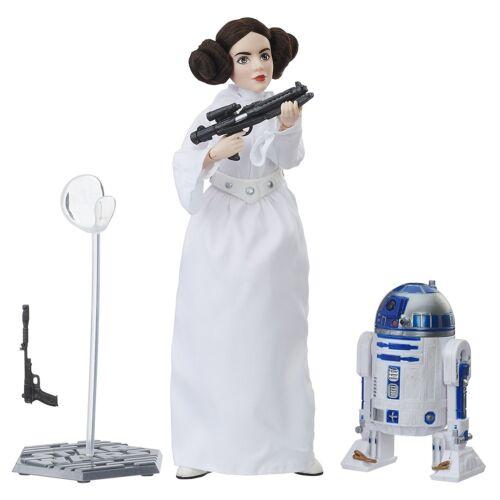 Hasbro Star Wars Forces du destin Princesse Leia R2-D2 Platinum Edition EN STOCK