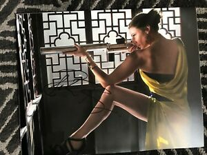 Mission-Impossible-Rebecca-Ferguson-Autographed-Signed-11x14-Photo-COA
