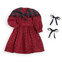 American Girl Kirsten's Red School Outfit Dress For Kirsten Doll Not Included