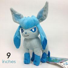 "Glaceon #471 Pokemon GO Plush Soft Toys Character Stuffed Animal Doll Teddy 9"""