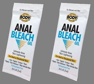 Body anal bleach gel