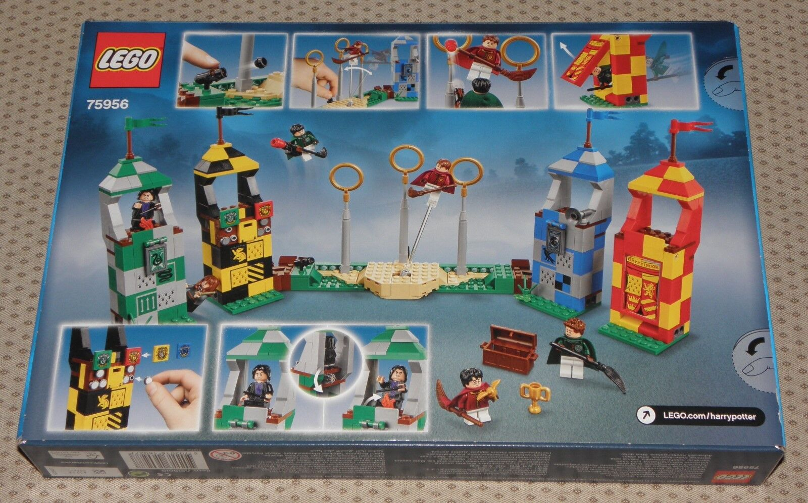 Lego 75956 75956 75956 Harry Potter QUIDDITCH TURNIER Quidditch Match mit 6 Minifiguren NEU 521c0f