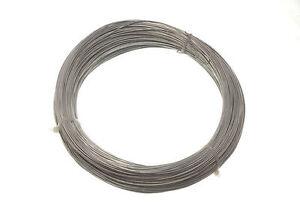 NEUF-galvanise-Cloture-de-jardin-CABLE-0-7-mm-160-metres-QTY-6-a-0-5kg-en-poids