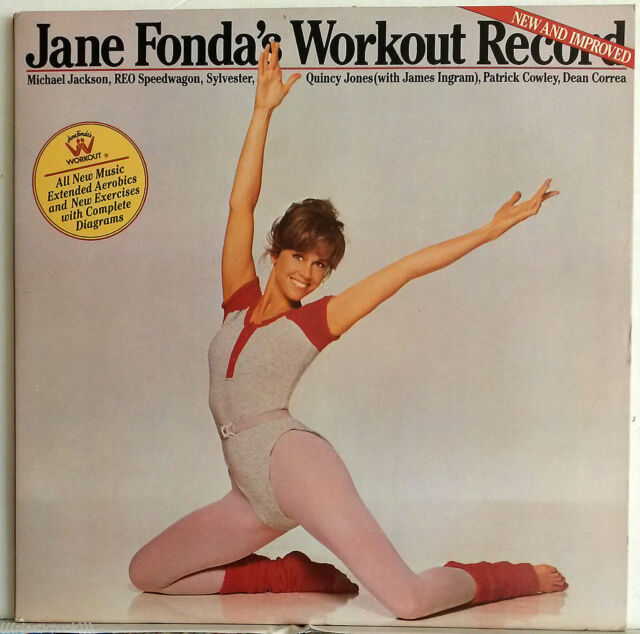 Jane Fonda's Workout Vinyl Michael Jackson Quincy Jones
