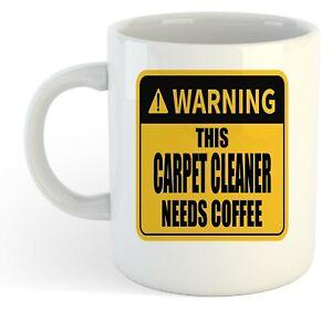 Warning-Esta-Alfombra-Limpiador-Necesita-Cafe-Blanco-Taza-Regalo-Trabajo