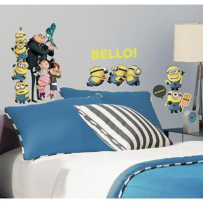 31 New Despicable Me 2 Movie Wall Decals Gru Minions