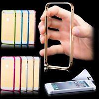 iPhone SE/5/5S ALUMINIUM CNC BUMPER   Hülle Schutzhülle Case Cover Tasche Bumper