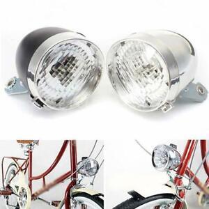 LED-Vintage-Bike-Headlight-Bicycle-Retro-Head-Light-Front-Fog-Lamp
