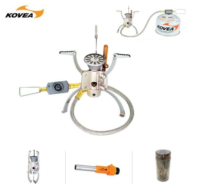 KOVEA Camp KB-1006 Camp 5 Compact Camping Hiking Cooking Gas Hose Stove