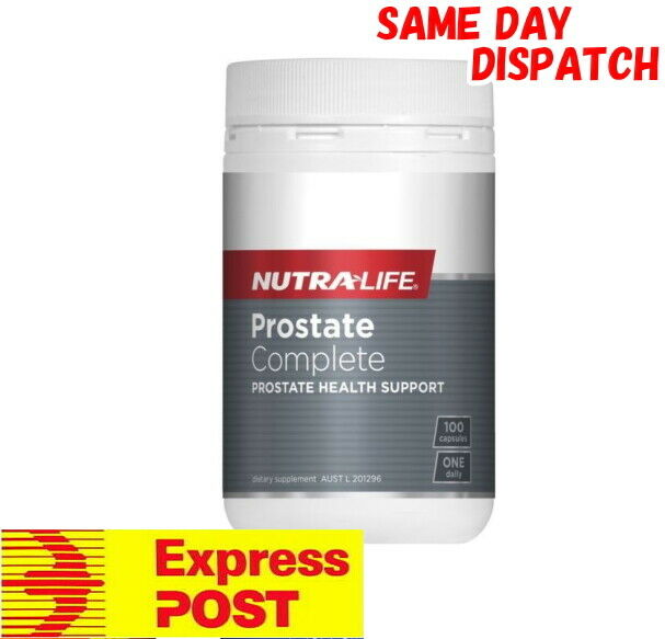 Nutra Life Prostate Complete 100 Capsules Saw Palmetto Zinc For Men FREE EXPRESS