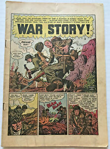 Vintage-1950-Two-Fisted-Tales-19-EC-Comic-Book-coverless-Wally-Wood-Kurtzman