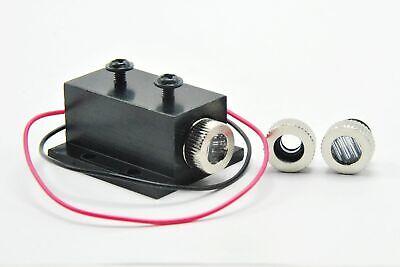 2pcs Adjustable 100mw 980nm IR Infra-Red Diode Laser Dot Module w 1pc 5V Adapter