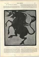 1898 CARTONE Moore Park Alfabeto Animali Palloncini Vecchio Stile