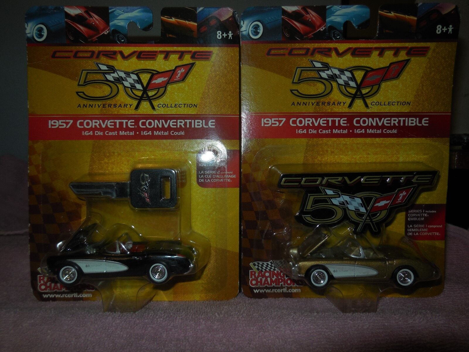 2 2002 diecast racing champions 1957 corvette congreenibles congreenibles congreenibles c5bf9d