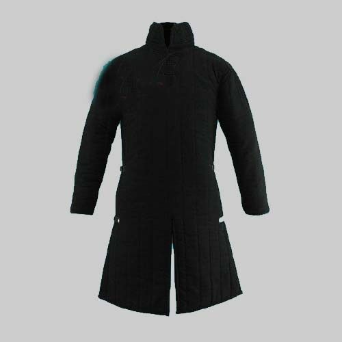 Details about  /Medieval Gambeson in standard sizes Black New Design Armour