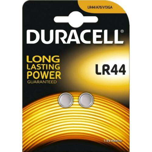 LR44 Blister 157 1.5V 2x Duracell Mini Alkaline Batterie G13 L1154 A76