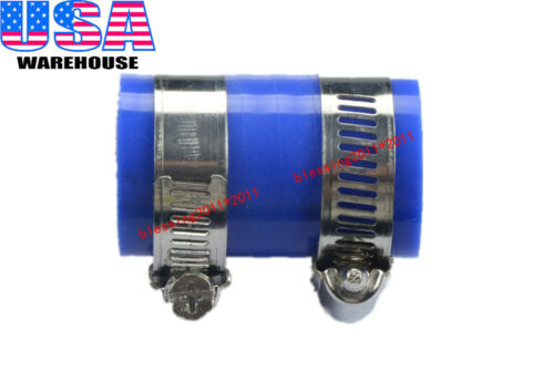 "1X HIGH TEMP EXHAUST COUPLING CLAMP 1/"" ID BLUE FOR HONDA CR80 CR125 CR250 CR450"