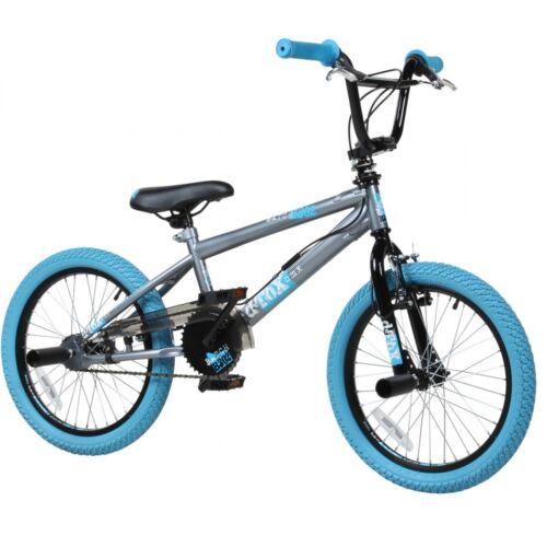 BMX 18 Pulgadas Bicicleta Freestyle de Niños Chico Rueda Detox