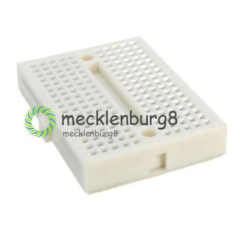 5Stks Solderless Prototype Breadboard 170 Tie-points for Arduino Dovetail Slot S