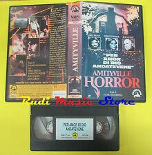 VHS film AMITYVILLE horror 1996 Brolin Kidder Steiger SKORPION A/64 (F23) no dvd