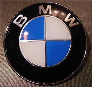 Bmw 82 Mm Badge Hood Trunk 1 3 5 7 X Serrie X3 X5 X6 Eu Ebay