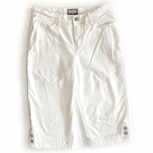 Levi's 512 Perfectly Slimming Womens Size 8 White