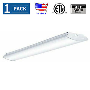 AntLux 4FT LED Kitchen Light Fixture 50W LED Utility Ceiling Light 5600lm 4000K  eBay