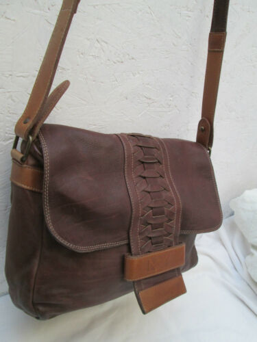 À Vintage Marianelli Authentique Cuir Main Tbeg Bag Sac 0qwtv5