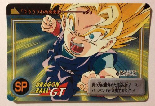 Dragon Ball GT Carddass Hondan DP 207