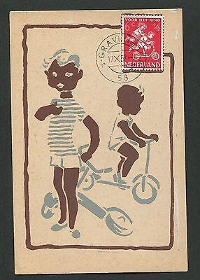 Besorgt Niederlande Mk 1958 Voor Het Kind Maximumkarte Carte Maximum Card Mc Cm D2008 Maximumkarten