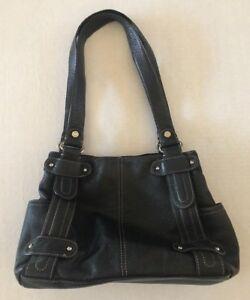 Tignanello Purse Black Leather Perfect
