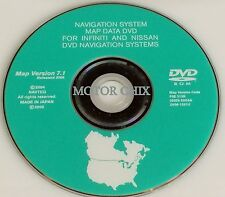 2006 2007 2008 Infiniti FX35 FX45 Altima Navigation DVD This is the original CD