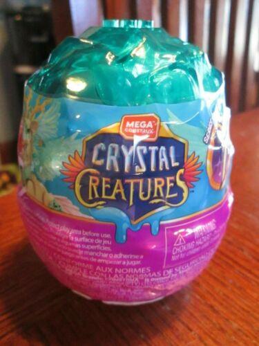 Mega Construx Crystal Creatures Series 1 AQUAGEM 03 Slime Egg NEW Teal Unicorn