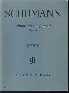 Schumann-Album-fuer-die-Jugend-Op-68-Urtext