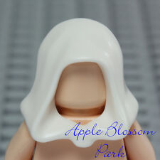 NEW Lego Minifig WHITE HOOD Star Wars Jedi Hat Castle Kingdoms Peasant Head Gear
