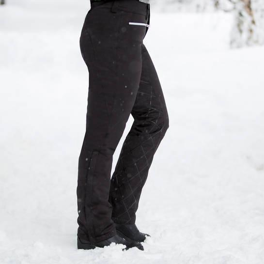 nuevo  horze Pantalones De Montar De Silicona De Agarre Acolchado Para Damas Adeline Negros Tallas 8 - 18