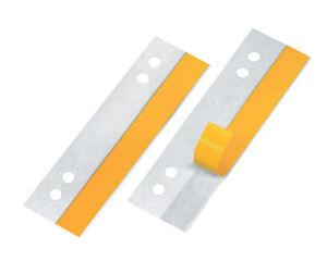 100-x-Veloflex-Heftfix-Heftstreifen-2002-selbstklebende-Abheftstreifen-glasklar