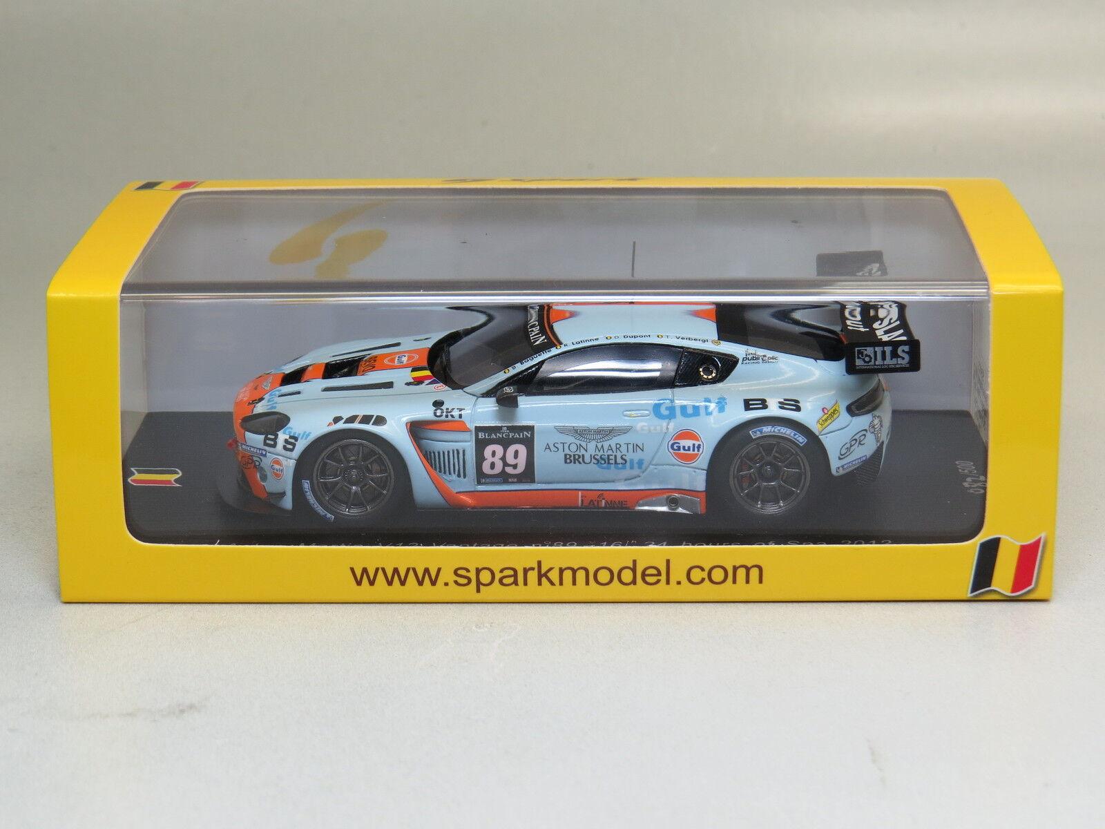 Spark SB033 Aston Martin V12 24 Hours of Spa 2012 1 43 Vantage nº89 16th