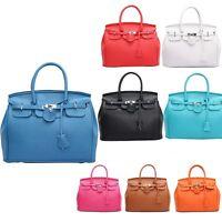 Designer Handbag Faux Leather Celebrity Tote Smile Shoulder Satchel Ladies Bag