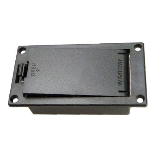 Aktive Pickup-Batterie Box mit Stereo-Ausgangsbuchse Zubehör für Gitarrenteile