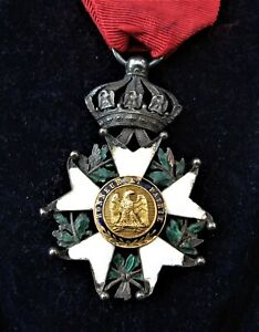*3099* médaille napoleon 1er Honneur Et Patrie Or 18k Et Argent avec sa boîte