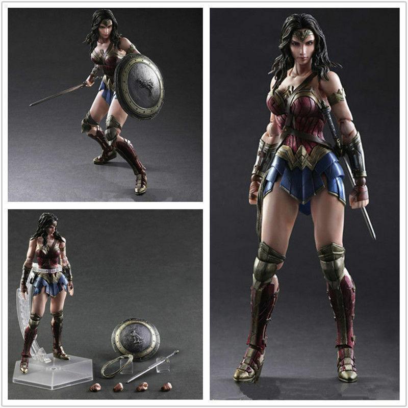 DC Comics Mujer Maravilla Figura SquareEnix variante Jugar Arts Kai Modelo Nuevo En Caja