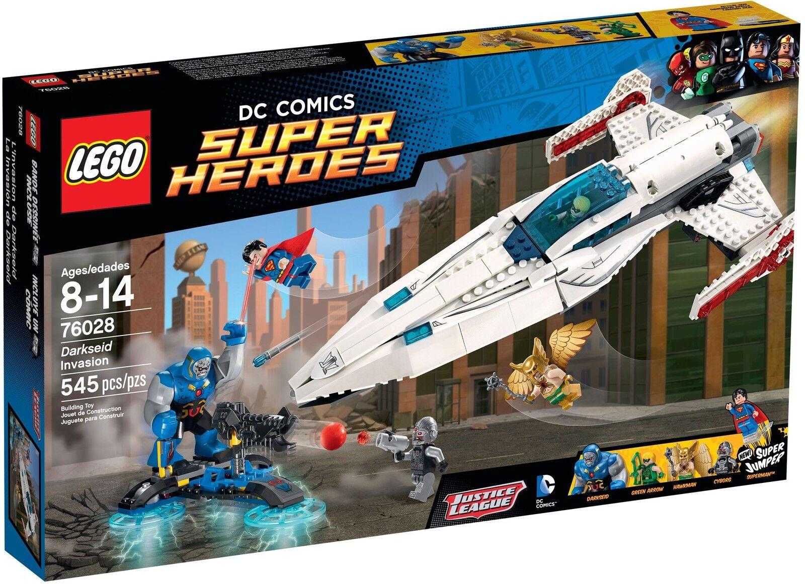 LEGO DC super Heroes - 76028 Darkseid invasion M. superman & manquante-NEUF & OVP