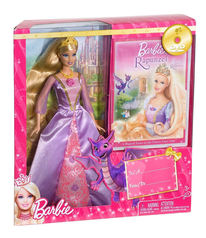 Rapunzel Barbie doll Mattel  MINT