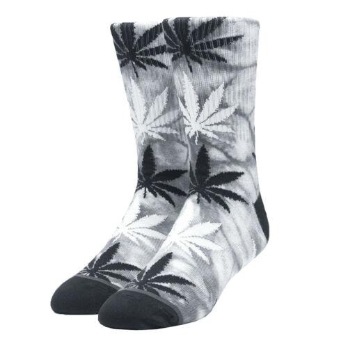 HUF-Tie-Dye Plantlife Sock Chaussettes Black