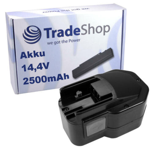 AKKU 14,4V 2500mAh ersetzt AEG B14.4 BF14.4 BX14.4 BX14.4 BXS14.4