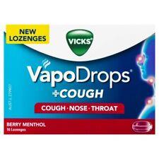 Vicks VapoDrops Cough Berry Menthol Lozenges 16 pack